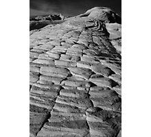Snow Canyon Steps Photographic Print