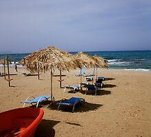 Cretian Beach by Sadie Hughes