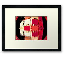 Moat Around The Tower of Portals  (UF0285) Framed Print