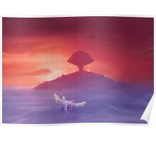 Flying to Pure land (12 left!) Poster