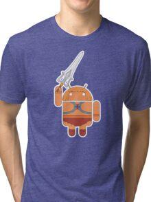 He-Droid (no text) Tri-blend T-Shirt