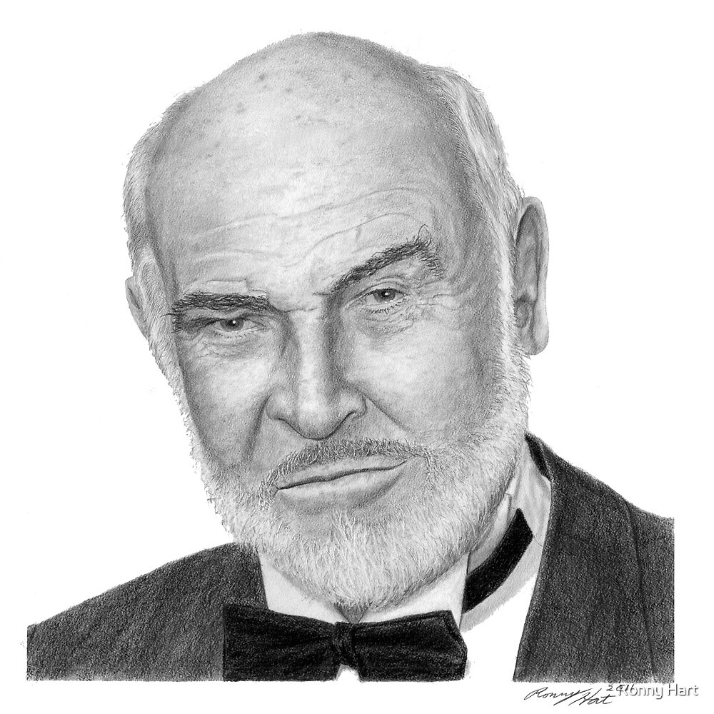 Sean Connery by Ronny Hart