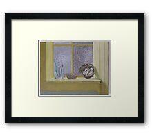 Still life with Ring Framed Print