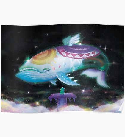 Wind Fish (7 left!) Poster