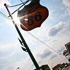 Sunny Route 66 by Amy Francen