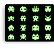OMG Space Invaders Canvas Print