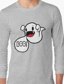 Boo! (Ghost) Long Sleeve T-Shirt