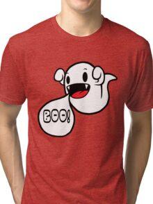 Boo! (Ghost) Tri-blend T-Shirt