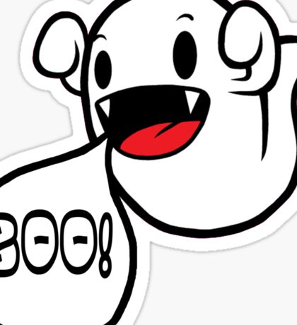 Boo! (Ghost) Sticker