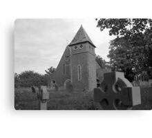 St James Church, Bicknor Canvas Print