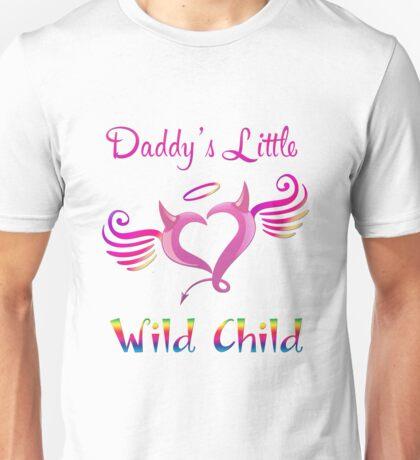 Daddy's Little Wild Child Unisex T-Shirt