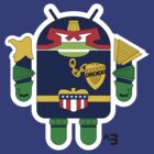 Judge Droidd (no text) by cubik