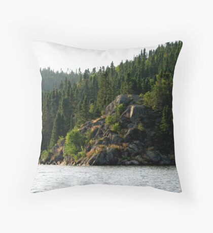 Coldwell, Northern Ontario Canada Throw Pillow