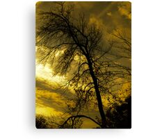 Sunset's Weight Canvas Print