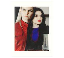 Emma & Regina Art Print