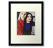 Emma & Regina Framed Print
