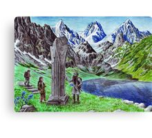 Durin's Stone Canvas Print