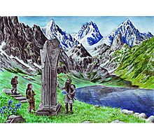 Durin's Stone Photographic Print