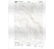 USGS Topo Map Oregon Elk Prairie 20110816 TM Poster