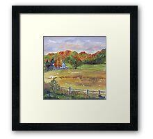 Rural Impressions 2 Framed Print