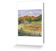 Rural Impressions 2 Greeting Card