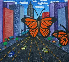 Butterflies in the City by niki morise