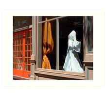 Dress For Sale Art Print