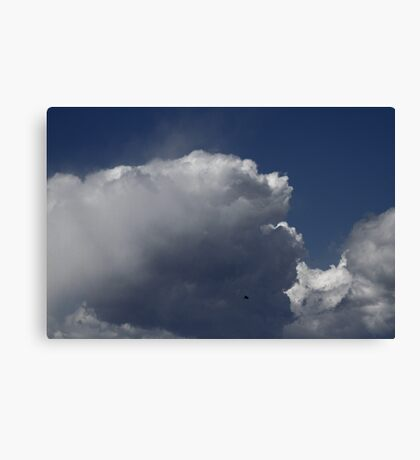 Nubes Sobre San Francisco Canvas Print