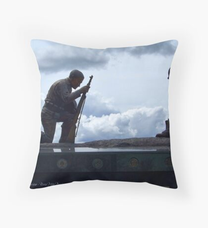 Never Forget 3 Throw Pillow