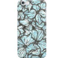 Blue Hydrangea Petals iPhone Case/Skin