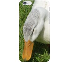 Duck coming from the right iPhone Case/Skin