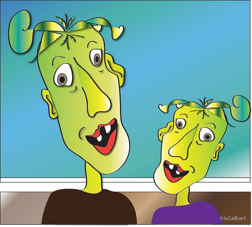 Family Resemblance by IrisGelbart