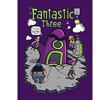 Fantastic Three Photographic Print
