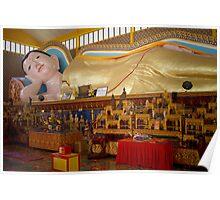 Reclining Buda - Penang Poster
