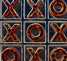 Noughts & Crosses 2 by Benedict Middleton