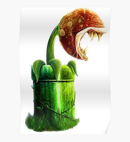 Mario Piranha Plant Poster