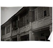 Window Shutters - Penang Poster