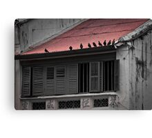 Red Roof - Penang Canvas Print