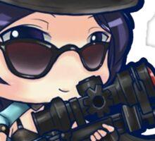 Cute Officer Caitlyn - League of Legends Sticker