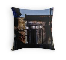 Alcatraz Birds Throw Pillow