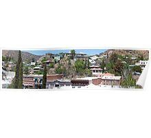 Bisbee, Arizona - Panorama Poster