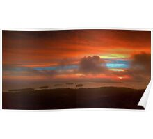 Sunrise From Cadillac Mountain 3 Poster