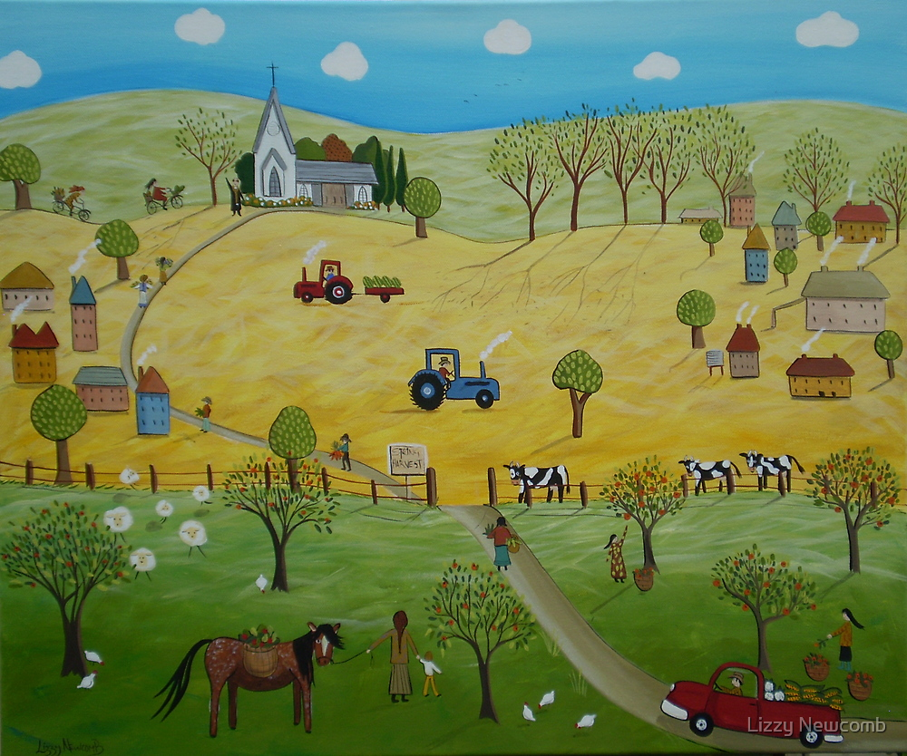 Spring Harvest by Lizzy Newcomb