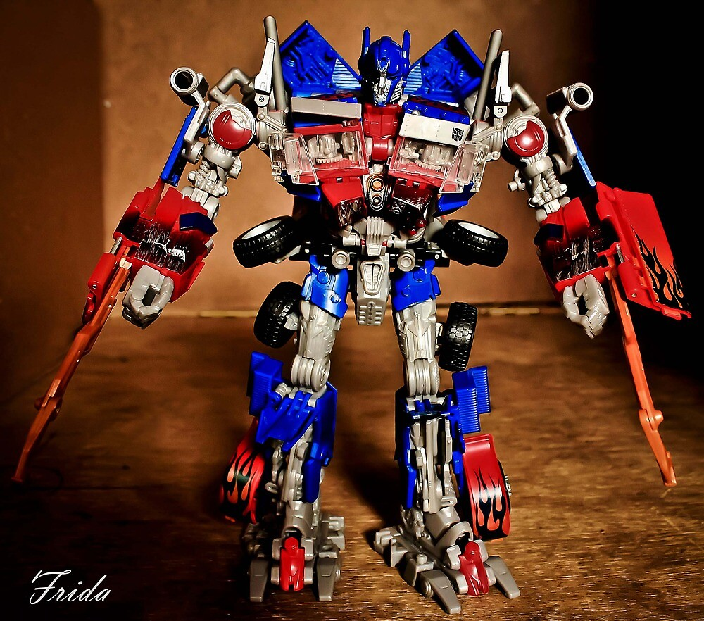 Optimus Prime - Transformers by Michael  Habal