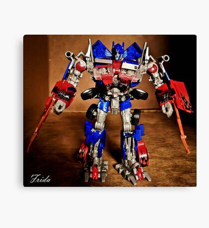 Optimus Prime - Transformers Canvas Print
