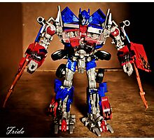 Optimus Prime - Transformers Photographic Print