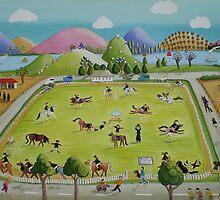 Pony club by Lizzy Newcomb