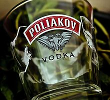 Vodka Glass by Michael  Habal