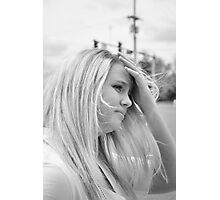 young woman Photographic Print