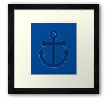 Anchor Points Framed Print
